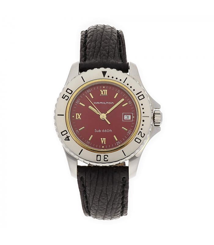 Reloj de Señora Hamilton chapado en Oro