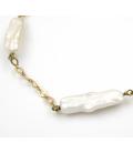 Pulsera de Oro amarillo con Perlas Cultivadas