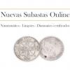 Nuevas subastas: Lingotes, numismática y diamantes